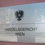Handelsgericht Wien Schild